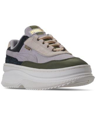 Deva Reptile Trainers Casual Sneakers