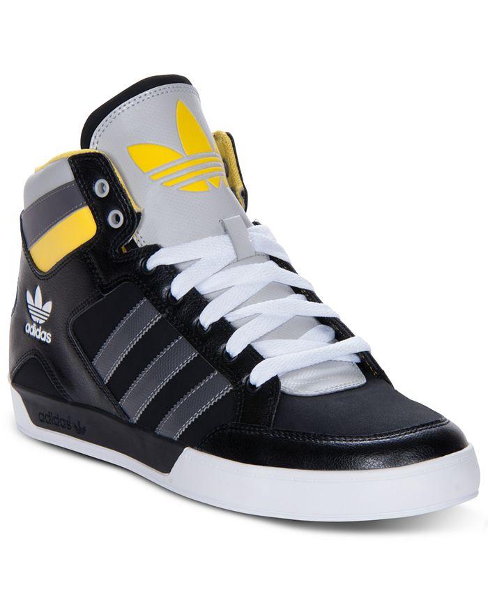 adidas - Men's Originals Hard Court Hi Casual Sneakers from Finish Line