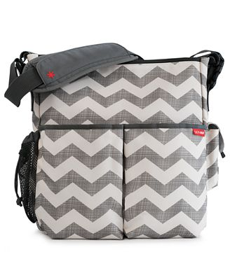Skip Hop Baby Bag, Duo Chevron Diaper Bag - Kids - Macy's