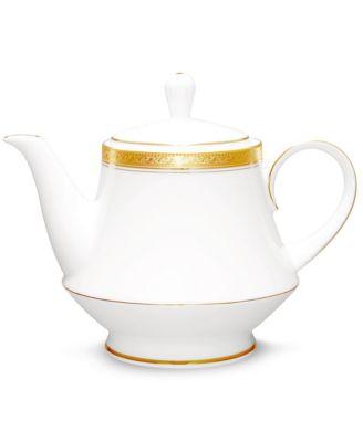Crestwood Gold Tea Pot