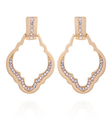 T Tahari Casual Chic Front Facing Hoop Earring
