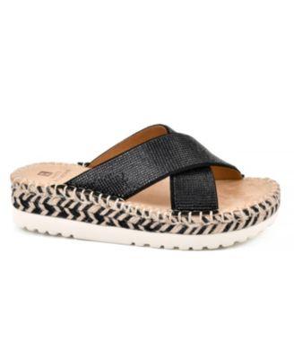 white mountain platform shoes