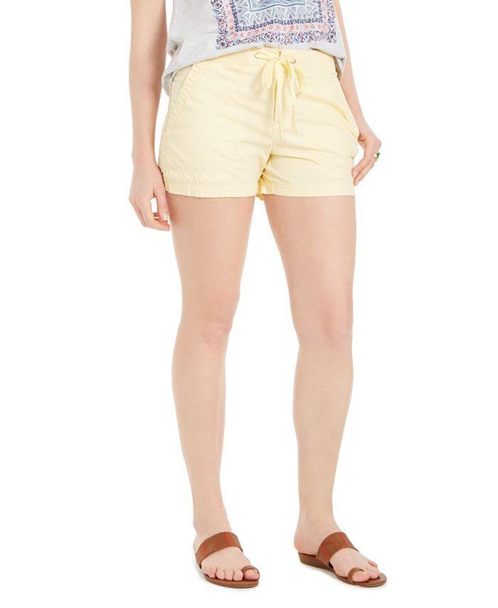 Style & Co - Poplin Tie Shorts
