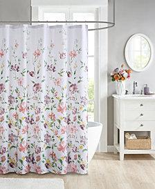 """JLA Home Isobelle 72""""x 72"""" Shower Curtain"""