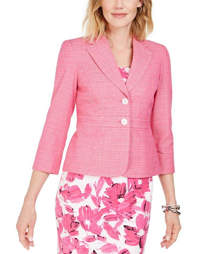 Kasper - Cross-Dyed Tweed Jacket