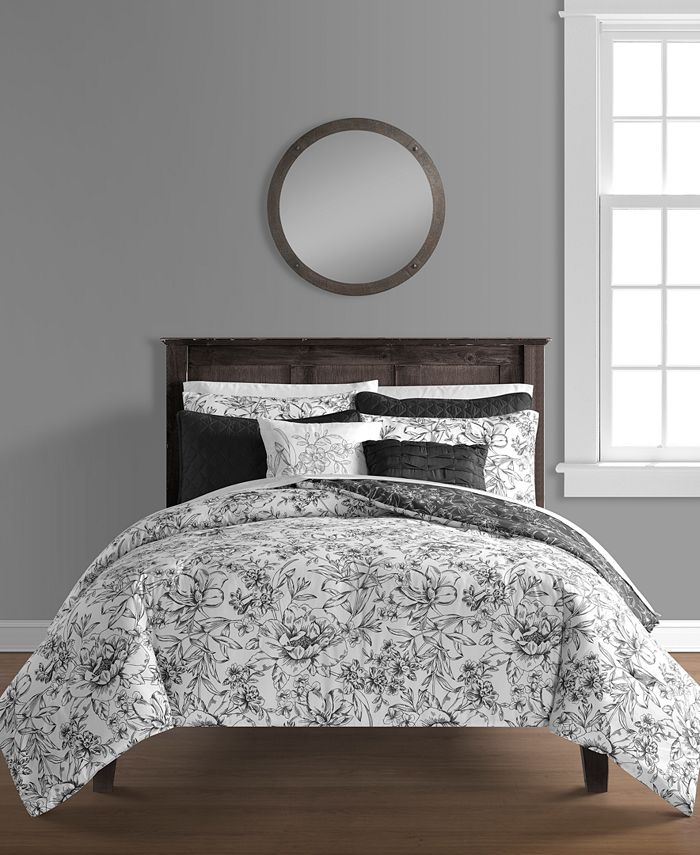 Sunham - June 8-Pc. Comforter and Quilt Set