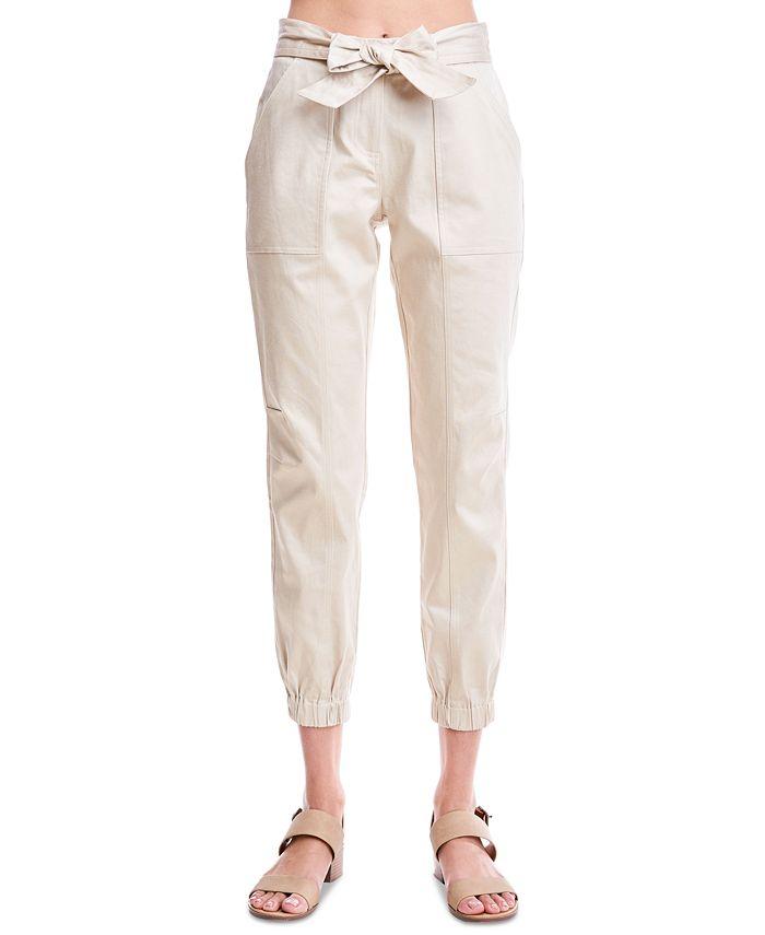 Fever - Belted Jogger Pants