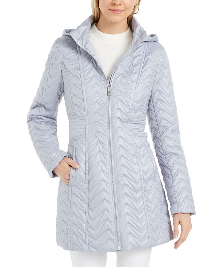 Via Spiga - Hooded Quilted Jacket