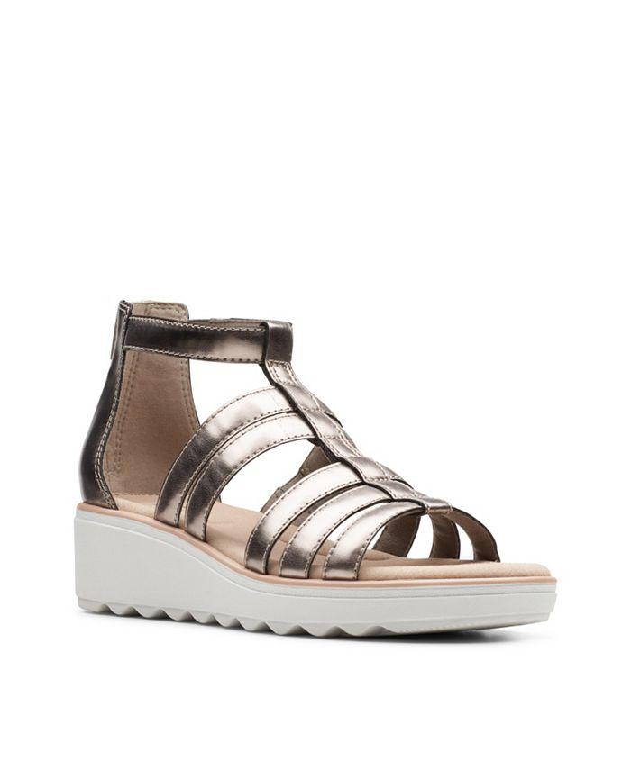 Clarks - Jillian Nina Wedge Sandals
