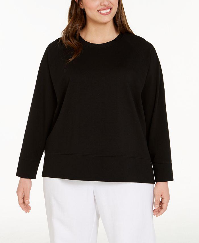 Eileen Fisher - Plus Size Crewneck Top