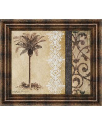 Decorative Palm II by Michael Marcon Framed Print Wall Art, 22