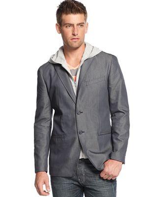 Compra Desgaste negro chaqueta de los hombres online al