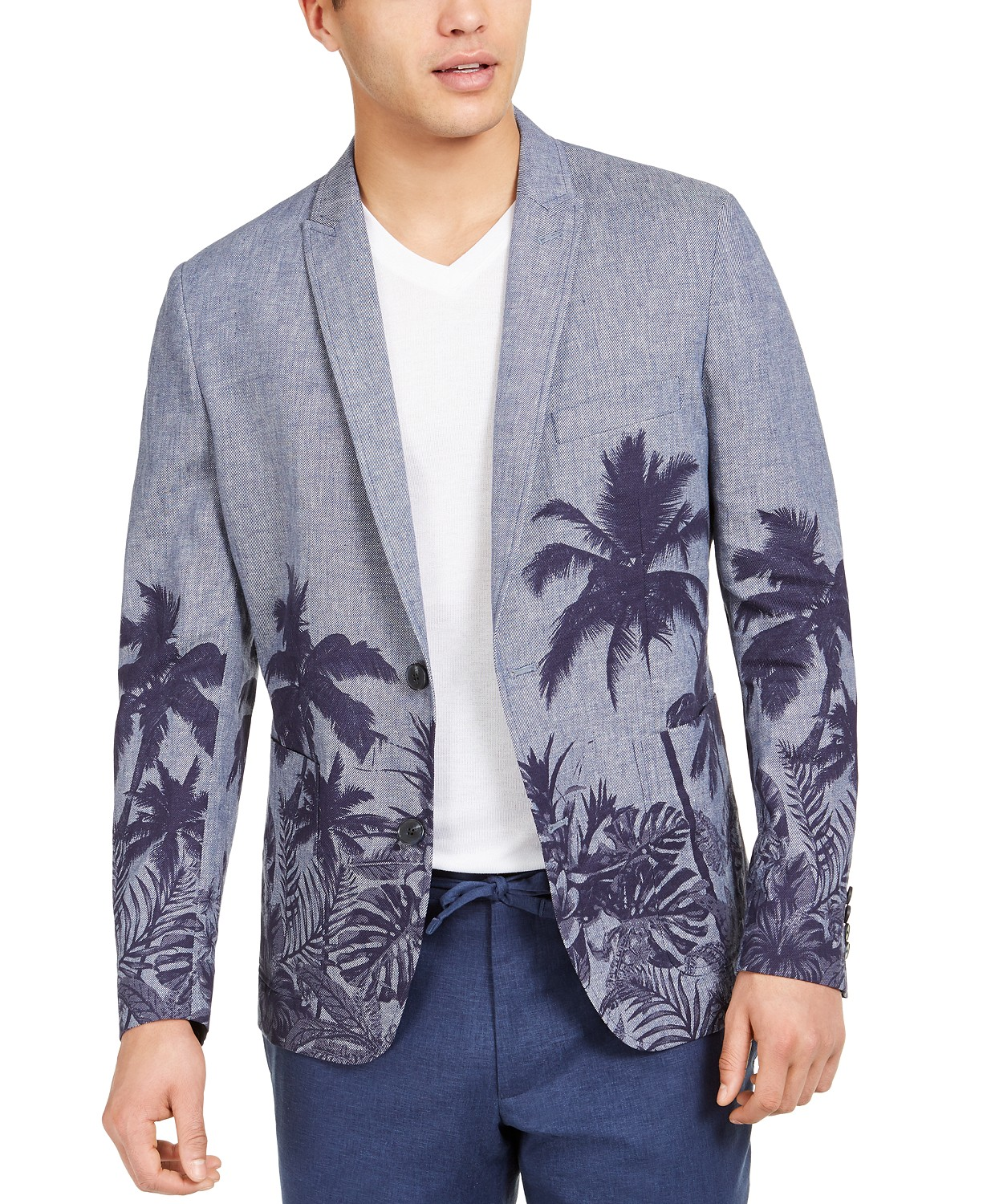 (89% OFF Deal) Palm Tree Blazer (Many More Styles Avail.) $39.93