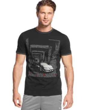Puma Shirt ShortSleeve Ferrari Graphic TShirt