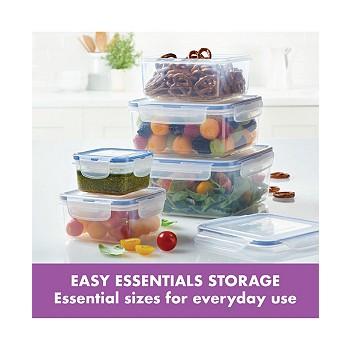 10-Piece Lock n Lock Easy Essentials Food Storage Set