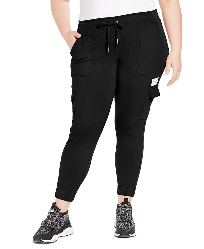 Calvin Klein - Plus Size Slim-Fit Cargo Jogger Pants
