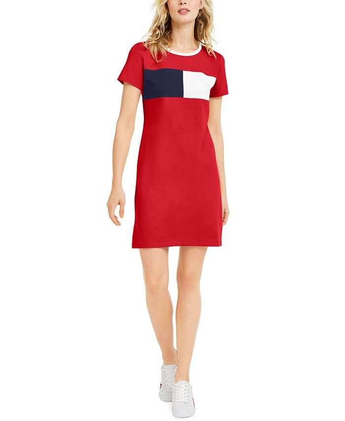 Tommy Hilfiger - Colorblocked T-Shirt Dress