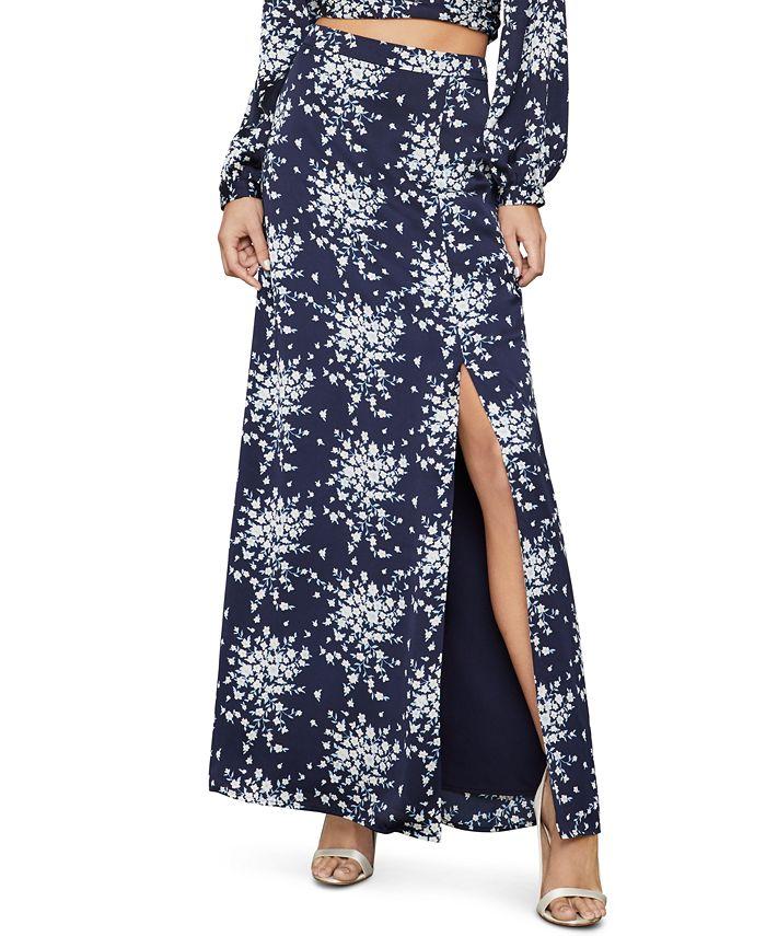 BCBGMAXAZRIA - Floral-Print Skirt