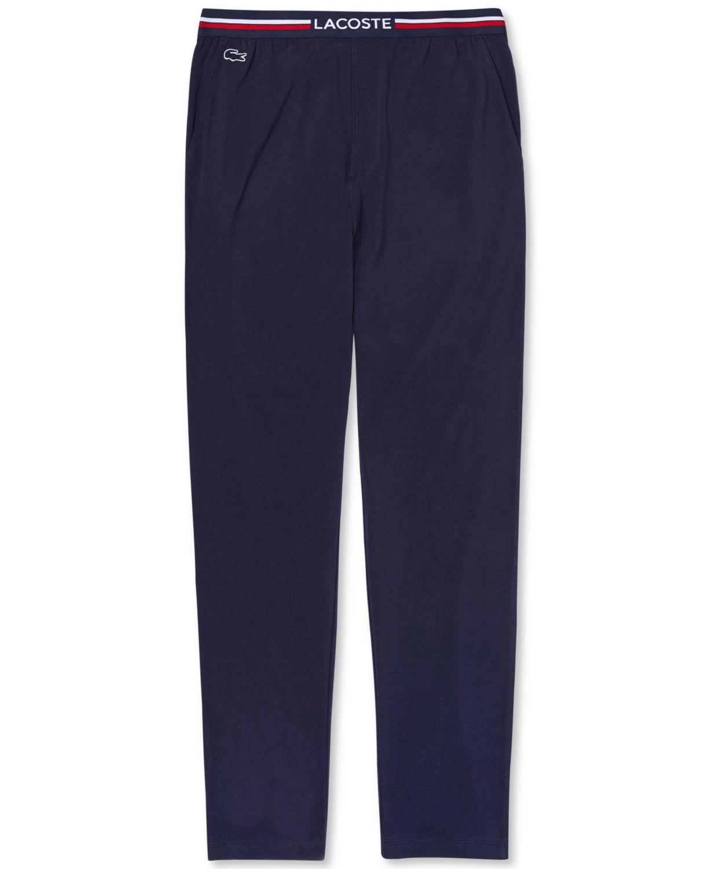 Lacoste Men's Stretch Pajama Pants & Reviews - Pajamas & Robes - Men - Macy's