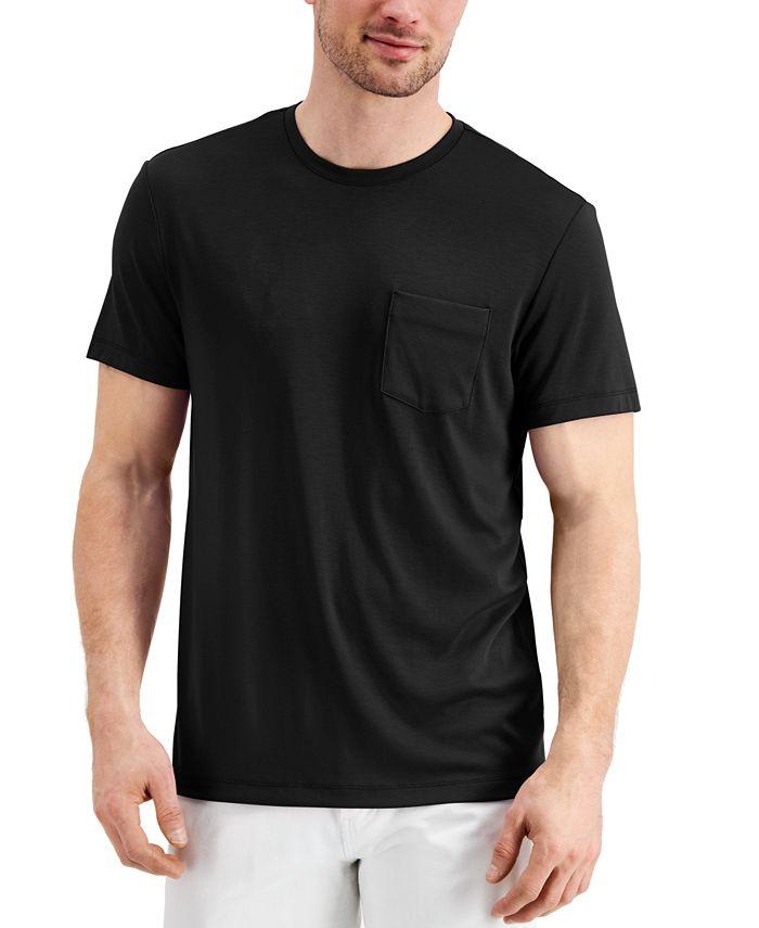 Alfani - Men's Alfatech Pocket T-Shirt
