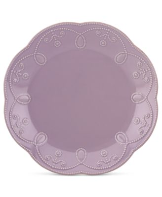 Lenox French Perle Violet Accent Plate