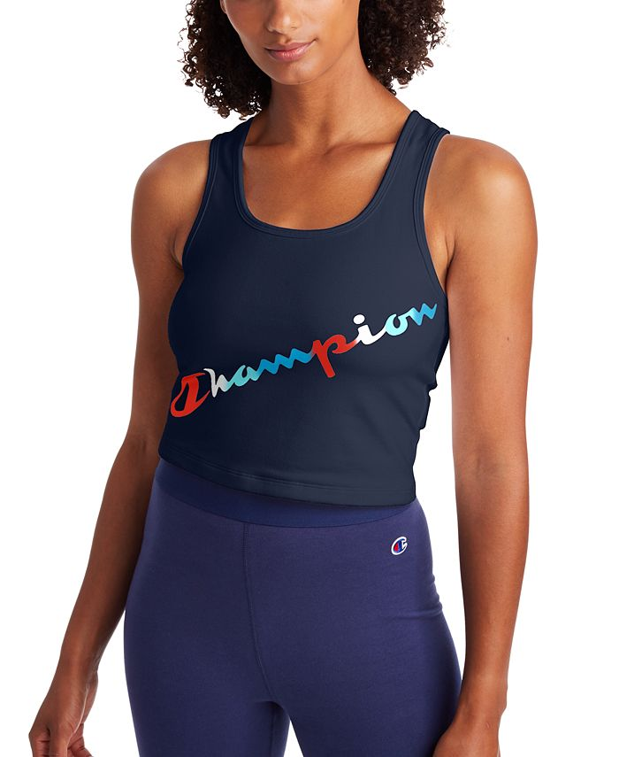 Champion - Authentic Double Dry Cropped Tank Top