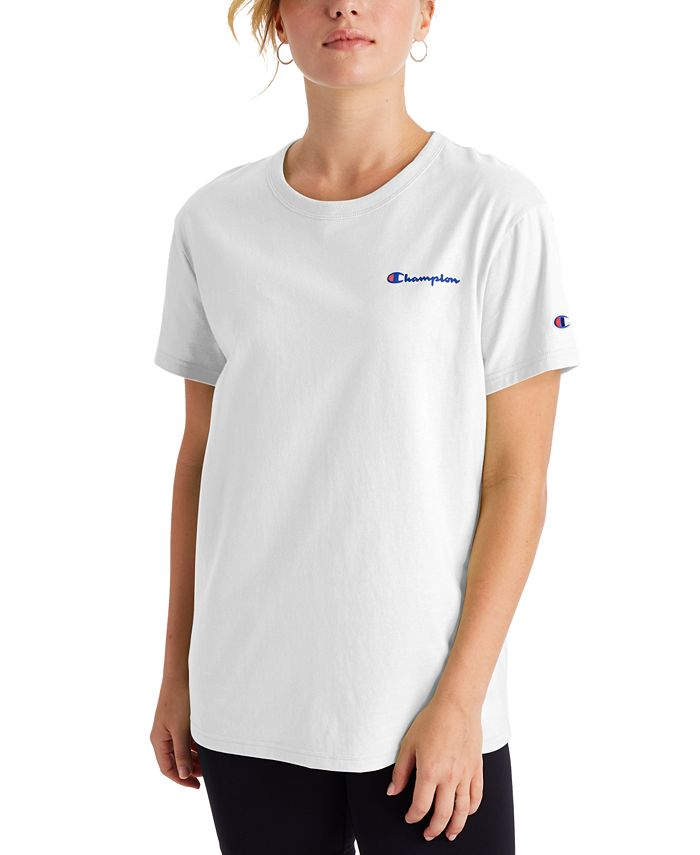 Champion - Cotton Logo Boyfriend T-Shirt