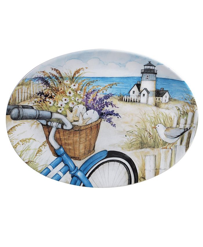 Tracy Porter - By the Sea Oval Platter