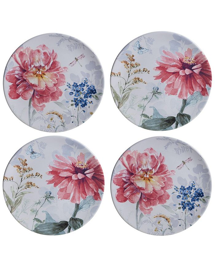 Certified International - Spring Bouquet 16-Pc. Dinnerware Set