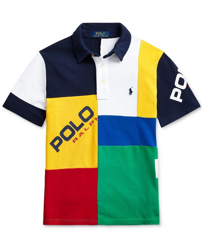 Polo Ralph Lauren Big Boys Cotton Mesh Polo Shirt & Reviews ...