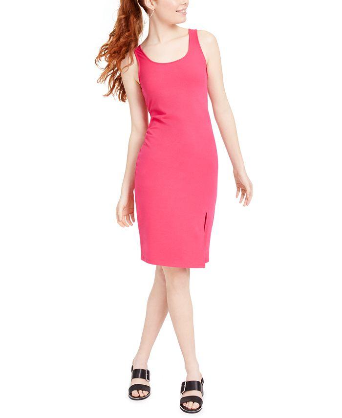 Bar III - Sleeveless Fitted Dress
