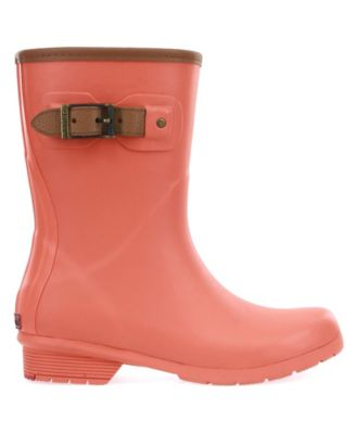 City Solid Mid-Calf Rain boot