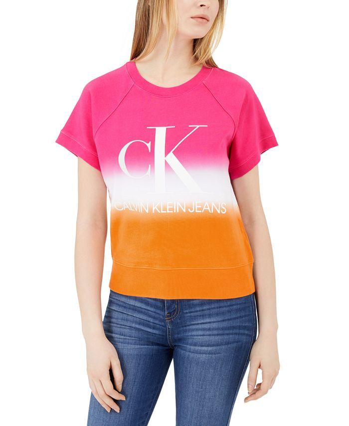 Calvin Klein Jeans - Cotton French Terry Logo T-Shirt