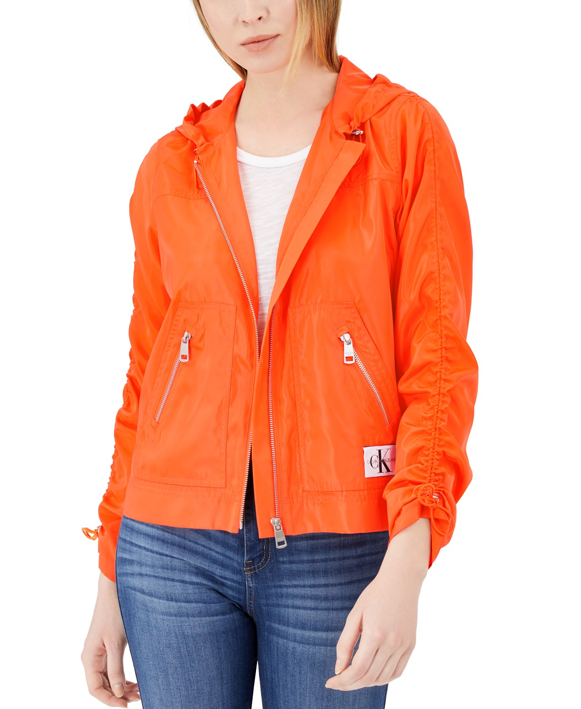 Calvin Klein Jeans Zip-Up Rain Jacke
