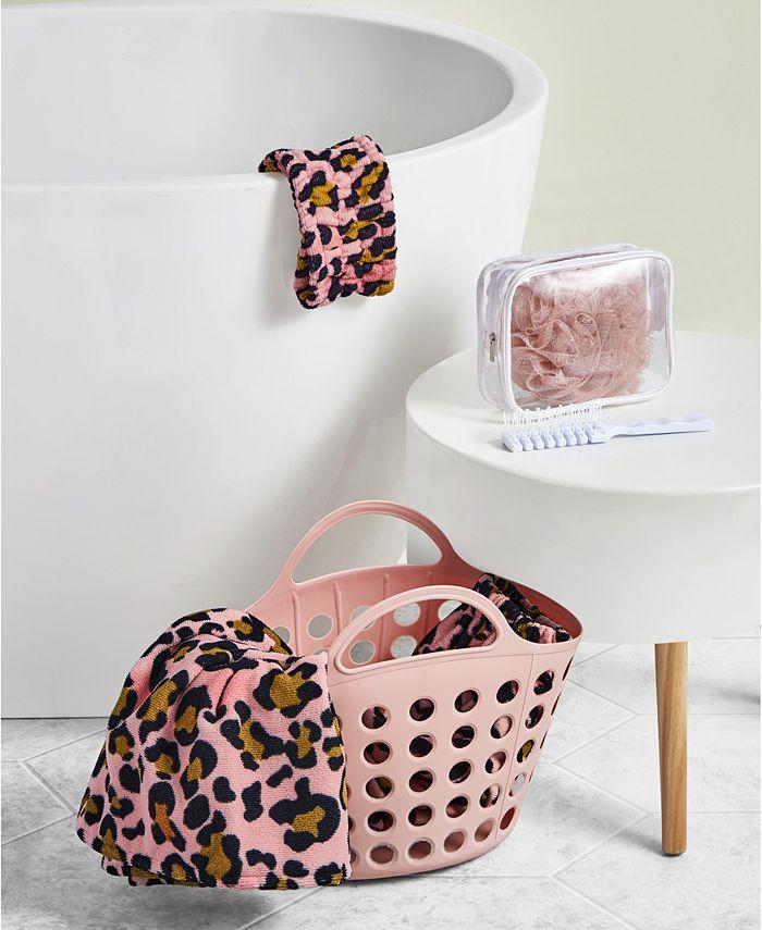Seventh Studio - 6 Piece Bath Set Cheetah