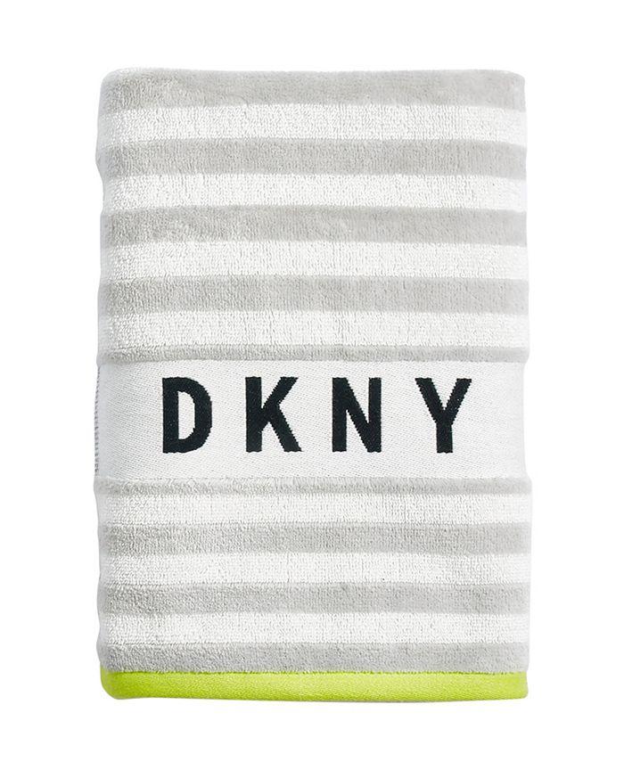 Dkny Ticker Tape 18 X 28 Hand Towel Reviews Bath Towels Bed Macy S