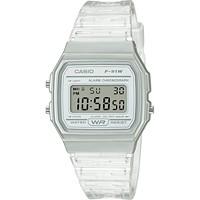 Casio Unisex Digital Clear Jelly Strap Watch