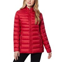 Deals on 32 Degrees Packable Hooded Down Puffer Coat