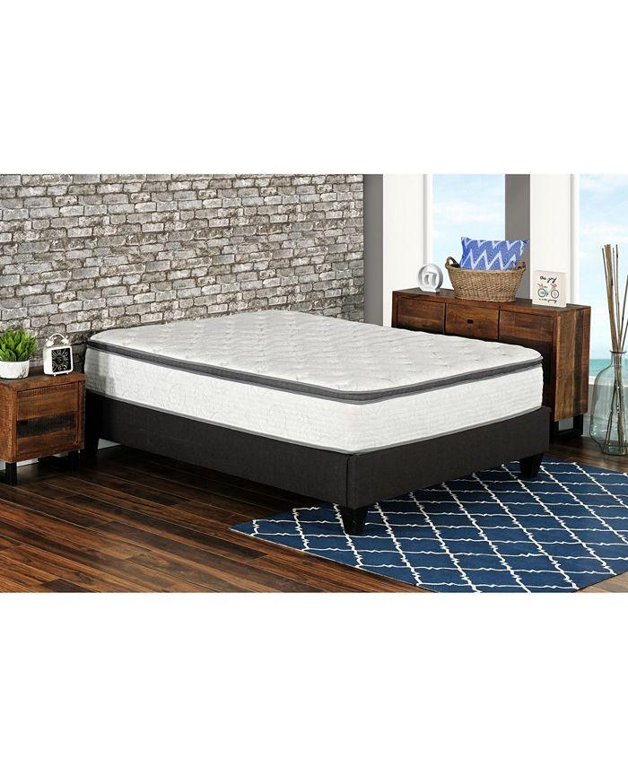 "Primo International - Primo Berri 12"" Pocket Coil Lumber Gel Cushion Firm Mattress - Twin"