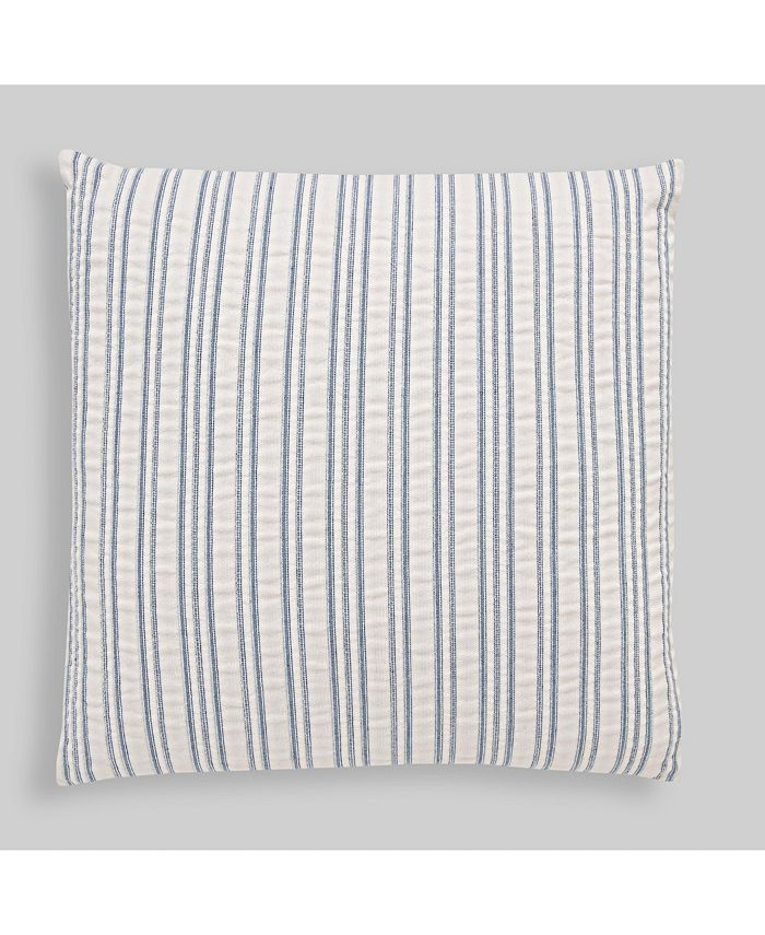 Hedaya Home - Made in Portugal Paolo Matelasse Stripe Throw Pillow