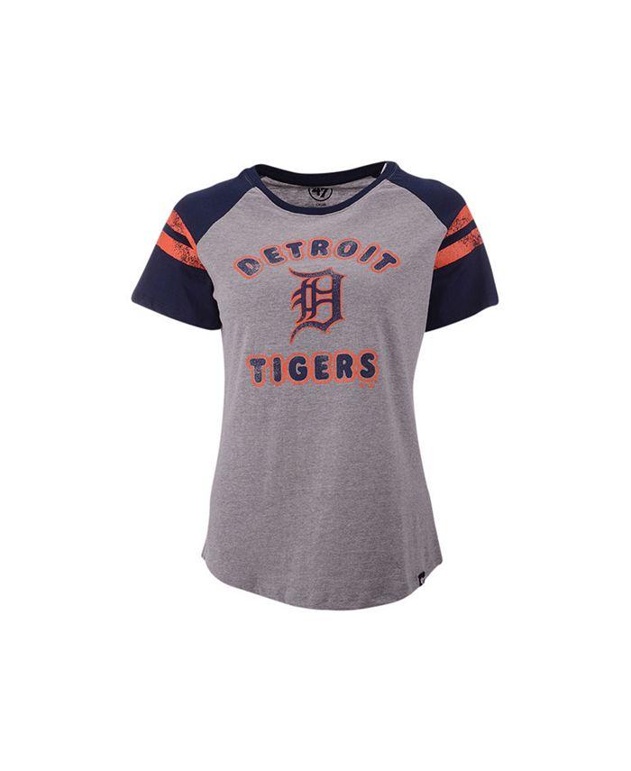 '47 Brand - Women's Detroit Tigers Fly Out Raglan T-shirt