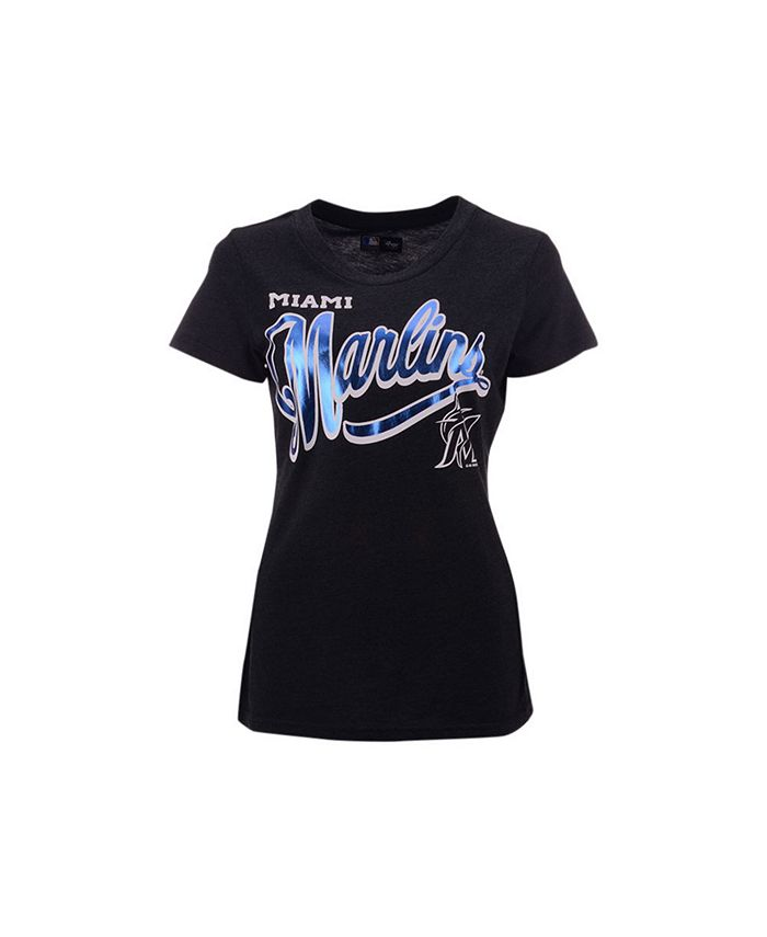 G-III Sports - Women's Miami Marlins Homeplate T-shirt