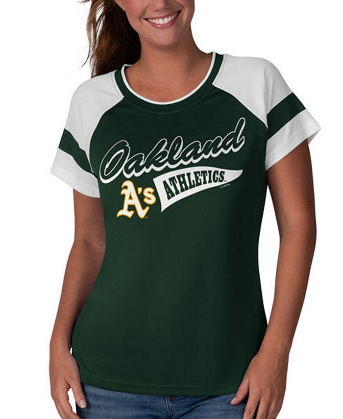 G-III Sports - Women's Oakland Athletics MLB Biggest Fan T-Shirt