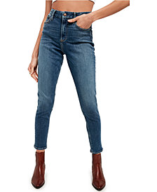 Free People Montana High-Rise Skinny Jeans