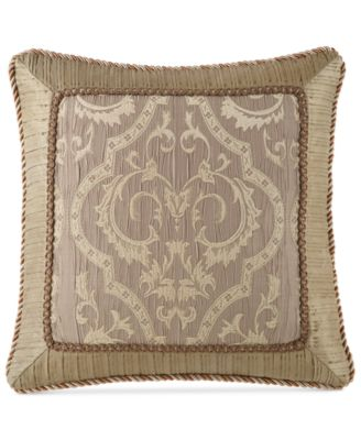 "Waterford Hazeldene 20"" Square Decorative Pillow"