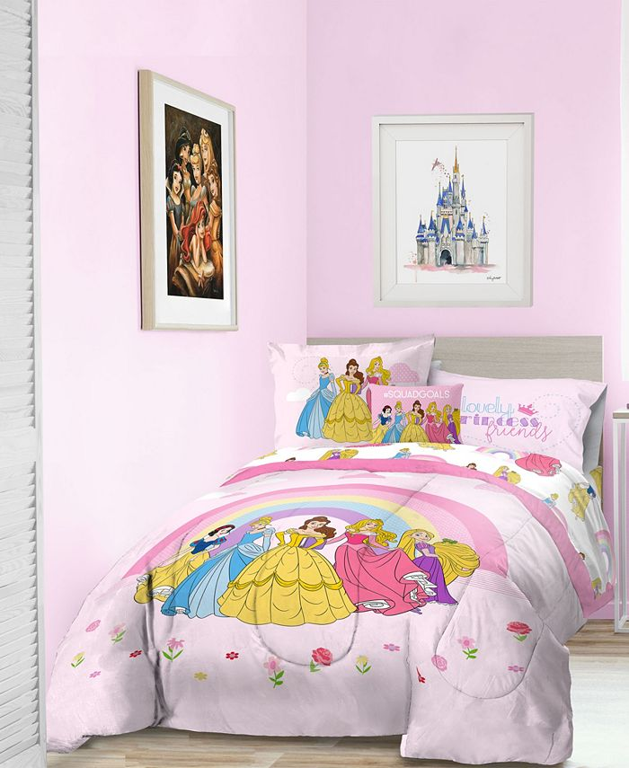 Disney Princess 'Dream Big' 6pc Twin bed in a bag ...