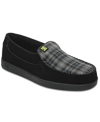 dc shoes villain slip ons shoes macy s