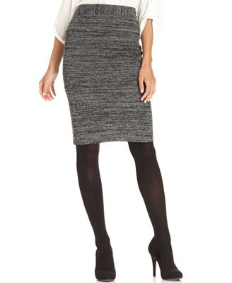 grace elements skirt printed ponte knit pencil skirts
