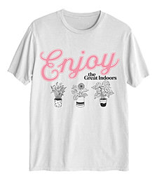 Love Tribe Women's Enjoy The Great Indoors T-shirt
