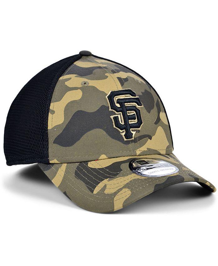 New Era - Men's San Francisco Giants Camo Neo 39THIRTY Cap